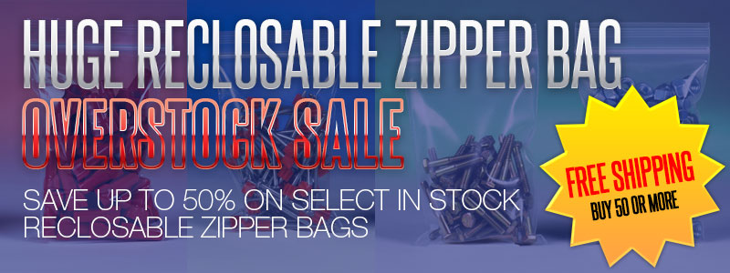 ALL RECLOSABLE ZIPPER BAGS MUST GO! PRICED TO SELL! BUY 50 OR MORE AND GET FREE SHIPPING!