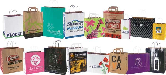 Custom Printed Merchandise Bags from JC Danczak, Inc