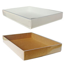 Custom stationery and greeting card boxes from jc danczak inc white and kraft boxes m4hsunfo