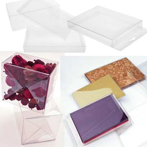 Clear Boxes & Containers