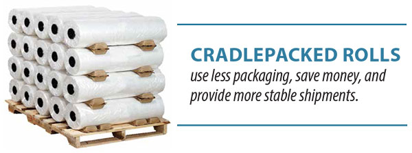 Cradlepacked Rolls