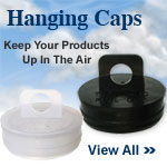 Plastic Tube Hanging Caps