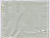 "4 1/2"" x 5 1/2"" Clear Packing Envelope 1000/Case"