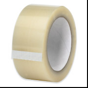 "1.6 mil 2"" x 55 yds Clear Hot Melt Tape"