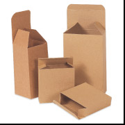 3  1/4 x   15/16  x  3 1/4  Kraft Folding Carton 1000/Case