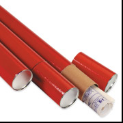 3 x 24 Red 3 Piece Telescoping Tube 24/Case