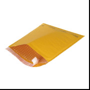 "4"" x 8"" Self Seal Kraft Bubble Mailers #000 500/Case"