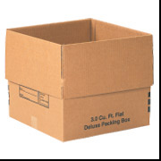 3.0 Cu. Ft. Flat Deluxe Packing Box 20/Bundle