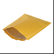 0 - Kraft Bubble Mailer - Heat Seal 250/Case