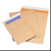 9 3/4 x 12 1/4  Self Seal Kraft Stayflat Mailer