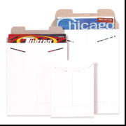 12 3/4 x 15  White Stayflat Mailer