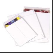 12 3/4 x 15 Self Seal White Stay Flat Mailer