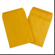 3 1/8 x 5 1/2 Kraft Coin Envelope 5000/Case