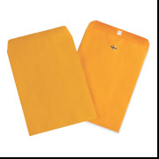 7 1/2 x 10 1/2 Kraft Clasp Envelope 1000/Case