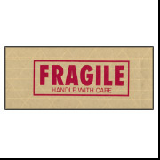 "260 - 3"" x 450' Printed ""Fragile"" Tape"