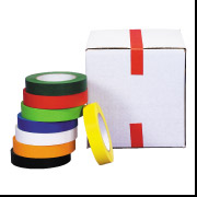 "3/4"" x 60 Red  Masking Tape 48 Rolls/Case"