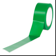 "3"" x 36""  Green Aisle Marking Tape 6-Mil"