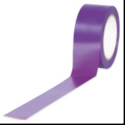"2"" x 36""  Purple  Aisle Marking Tape 6-Mil"