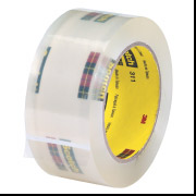 "311 - 2"" x 1500 Clear Tape (2.0 Mil) 6/Case"