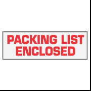 "2"" x 110 ""Packing List Enclosed"""
