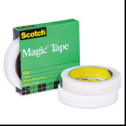 "810 - 1""x 72 -  3M Magic Tape With 3""Core 12 Rolls/Cs"
