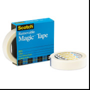 "811 - 1/2"" x 36  3M Removable Tape"