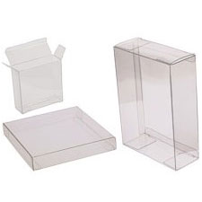 5 3/8 x 1 x 7 3/8 A7 Soft Fold Clear Boxes 100/case