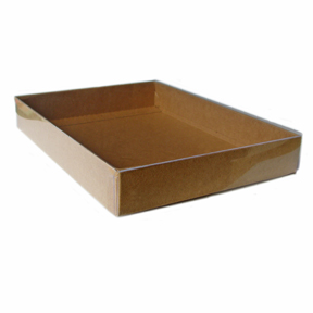 "Kraft Stationery Boxes (10 x 7 x 2"") 48/Ctn"