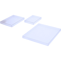 "5 1/8"" x 5/8"" x 7 1/8"" Acid-Free Plastic Photo Boxes 200/Case"