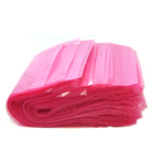 "4"" x 8"" 6 Mil. Amine Free Pink Anti-Static Poly Bags 1000/Case"