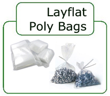 "1.5 Mil. Poly Bags (Size: 2"" x 12"")"