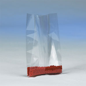 "3 Mil. Gusseted Poly Bags (Size: 8"" x 4"" x 18"")"