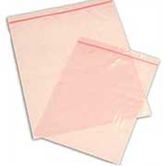 �CLEARANCE� 8 x 10 - 4 mil Pink Anti Static Reclosable Bags