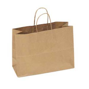 16 x 6 x 12 Kraft Shopping Bag 250/Case