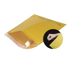 #2  8 1/2x12 Tear Tab Self Seal Kraft Bubble Mailers