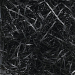 Black VeryFine Cut Paper Shred 10 lbs/Case