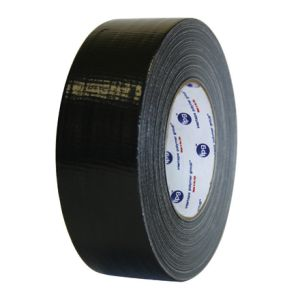 "2"" x 60' Black Cloth Duct Tape 24 Rolls/Case"
