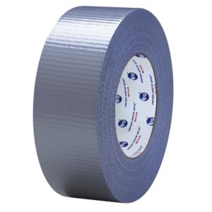 "3"" x 60 yds. Silver (2 Pack) 9.0 Mil Cloth Duct Tape"