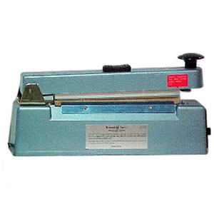 8 in. Hand Operated Impulse Heat Sealer with Cutter