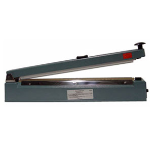 "16"" Hand Operated Impulse Heat Sealer with Cutter"