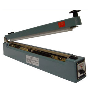 "20"" Hand Operated Impulse Heat Sealer with Cutter"