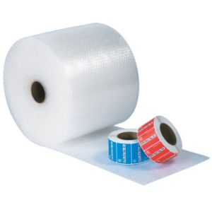 "1/2"" x 48"" (2) UPSable Air Bubble Rolls - 125ft/Roll"