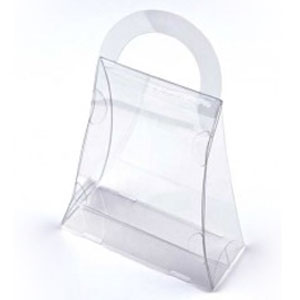 "3 1/2"" x 1 1/2"" x 4"" Purse Food Safe Box (25 Pack)"