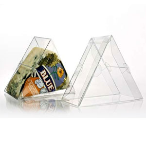 "4"" x 2"" x 3 1/2"" Triangular Box (25 Pack)"