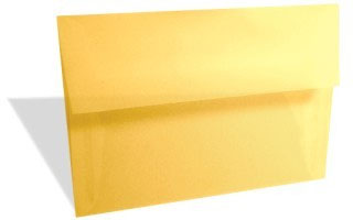 Pastel Yellow Translucent Vellum (A2/5.5 Bar) 5 3/4 x 4 3/8 (50 pack)