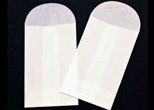 2 1/4 x 3 1/2 Glassine Open End Center Seam Envelope (50 pack)