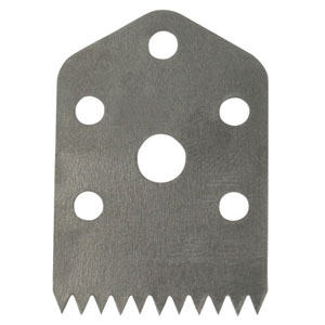 "Replacement Tape Cutting Blades for 5/8"" Bag Taper"