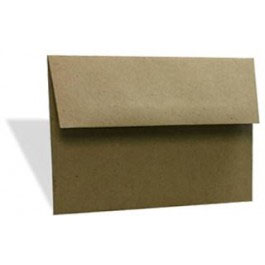 Brown Bag Envelopes, A6/6 Bar 6 1/2 x 4 3/4 (50 pack)