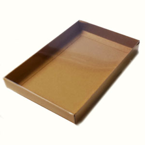 "A9 Kraft Stationery Boxes (8 7/8 x 5 7/8 x 1"") 50/Ctn"