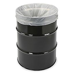 "63 Gallon Ex-Heavy Gauge Clear Trash Bags (Size: 23"" x 20"" x 47"")"